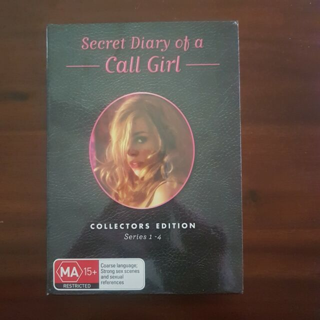 SECRET DIARY OF CALL GIRL - The Complete Series 1-4 4 x DVD Set Exc Cond!