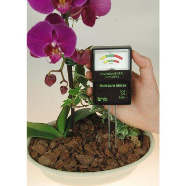 RAPITEST BARK WOOD CHIP SOIL MOISTURE PLANT FLOWER LAWN GARDEN TESTER METER