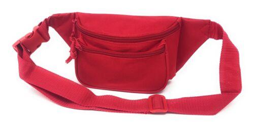 1 Dozen Fanny Waist Pack Purse Travel Pouch Money ID Passport Belt Bag Wholesale
