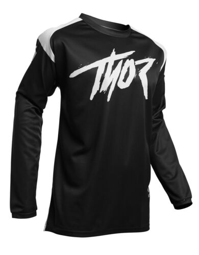 Choose Size Black Thor MX Motocross Men/'s Sector Link Jersey
