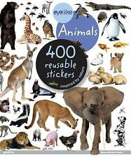 Animals Sticker Book with 400 Reusable Full-Color Stickers