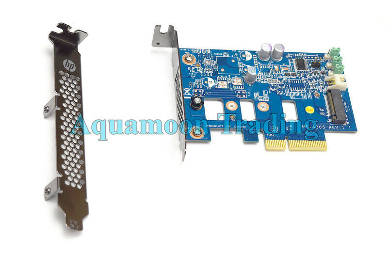 New SSD PCI-e To M.2 Controller Adapter Card Full + Low Profile Bracket MS-4365