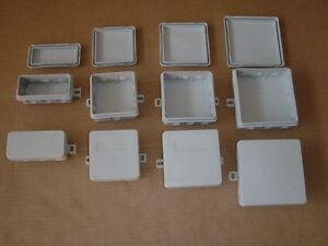 10-x-FR-AP-Abzweigdosen-IP54-Verbindungsdosen-VDE-diverse-Groessen-waehlbar