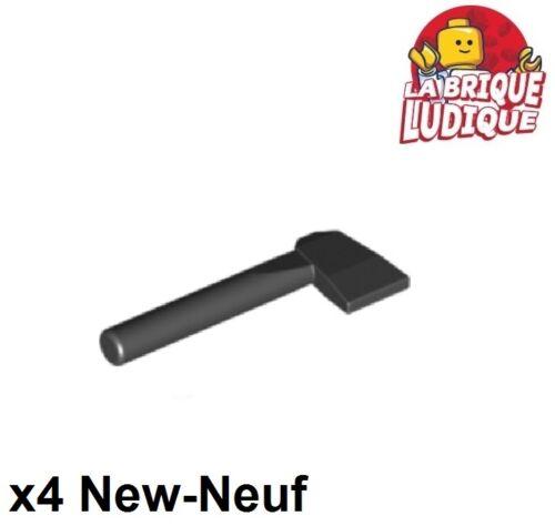 Lego 4x Minifig utensil ustensile outil hache axe noir//black 3835 NEUF