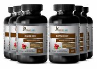 Concentrated Cranberry Extract 50:1 Powder 252mg W/ Vitamin C & E Urinary 6 Bot