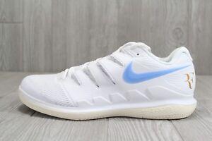 e4799950312 38 RARE Nike Air Zoom Vapor X HC Shoes Wimbledon Federer Sz 12