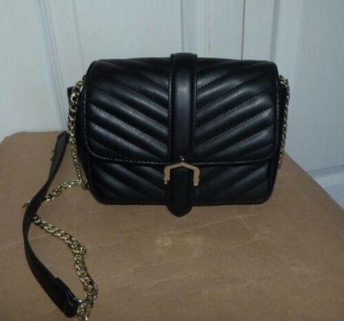 Bag Small Black Topshop cross Quilted Body Ladies Shoulder vgwq0Ovd