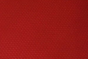 red punch hole faux leather upholstery vinyl fabric car trim interior couch 1yd ebay. Black Bedroom Furniture Sets. Home Design Ideas