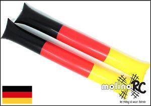 2x-Klatsch-Stange-WM-2018-Klatsch-Staebe-Ballonstange-60cm-BRD-Fan-Set
