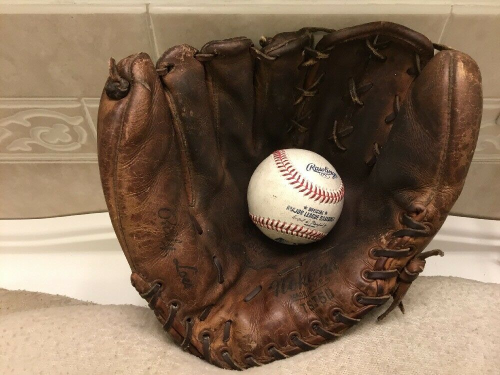 Nokona TST50 Billy Loes 11.5  béisbol Softbol Guantes Left Hand Throw
