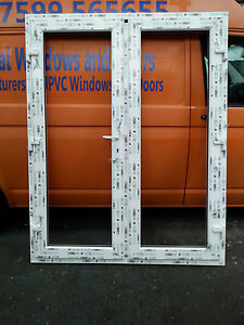 Upvc french door made to measure one handle for Upvc french doors made to measure