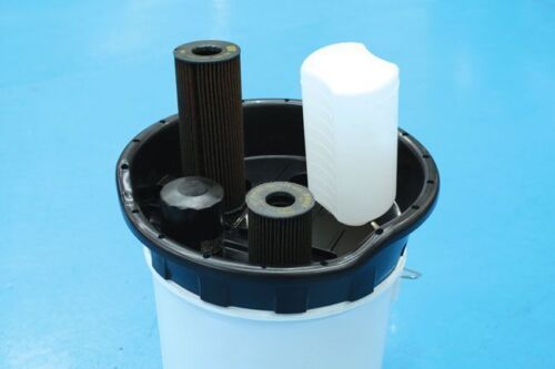 OIL FLUID DRUM BARREL TOP DRAINER HOLD THE FLUID BOTTLES /& CANS TO DRAIN