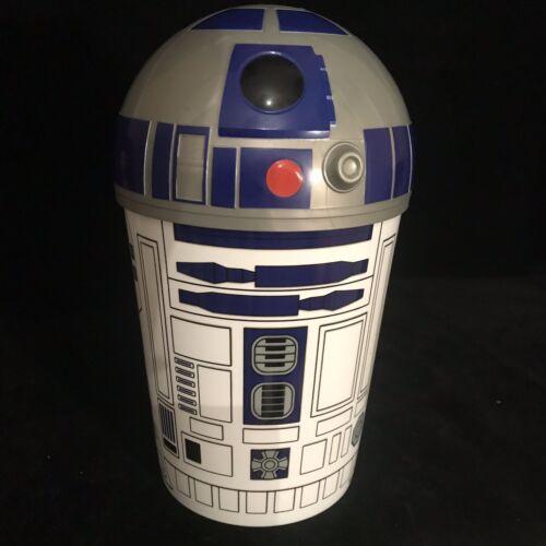 "Star Wars Rise Of Skywalker 10/"" R2-D2 Movie Theater Cinema Popcorn Tub New"