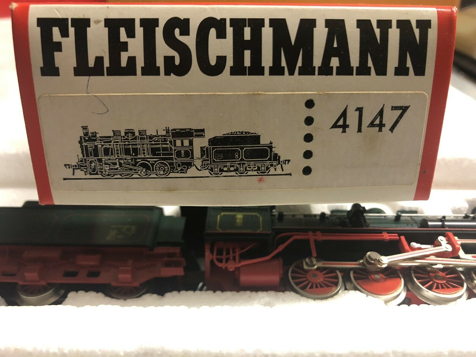 Fleischmann 1458 smerigliatrice set illuminazione interna zurüstsatz NUOVO