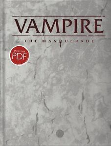 Details about Vampire The Masquerade 5 th Ed  Core Rulebook Deluxe NEW  Sealed Modiphius