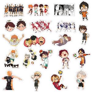 50pcs-Haikyuu-Volleyball-boy-Stickers-Anime-Decal-Skateboard-Laptop-bara