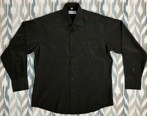 Guess-Men-039-s-Button-Down-Shirt-Long-Sleeve-Classic-Size-L-Large