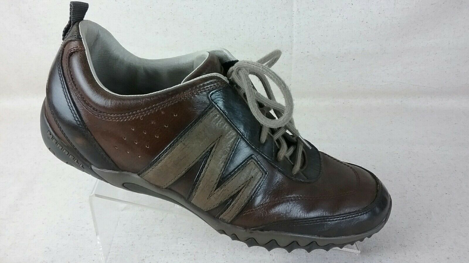 Merrell Leather Mens 11.5 Brown shoes R3-S 7