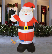 item 3 large inflatable santa snowman outdoor airblown xmas christmas decoration figure large inflatable santa snowman outdoor airblown xmas christmas