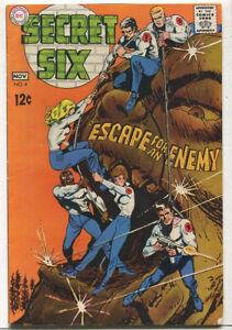 Secret-Six-4-Very-Good-Fine-Escape-For-The-Enemy-Silver-Age-DC-Comics-1968-SA