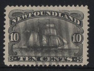 MOTON114-59-Newfoundland-Canada-used-well-centered-XF-cv-80