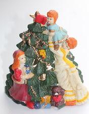 CERAMIC FESTIVE DECORATING THE CHRISTMAS XMAS TREE TEA LIGHT NIGHT LIGHT BNIB