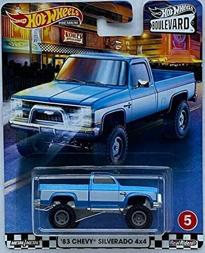 2020 Hot Wheels *Hotwheels Boulevard* Car #5 '83 Chevy Silverado 4X4.BOGO FREE🚗
