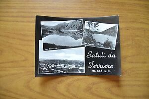 CARTOLINA-SALUTI-DA-FERRIERE-LAGO-NERO-VIAGGIATA-1955-SUBALPINA-DD