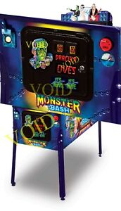 Monster Bash Flipper Münze Tür Magnete (5 Teile Set)