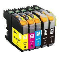 5PK Hi-Yield BK&Color Ink For Brother LC203 XL MFC-J680DW J880DW J885DW New Chip