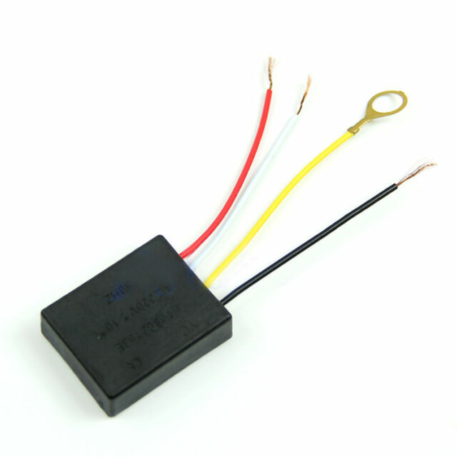 New 1 Way On/off Desk light Parts Touch Control Sensor lamp Switch for Bulbs