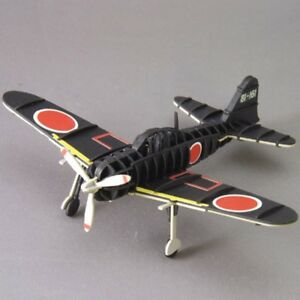 Details about 3D puzzle Paper Craft - Model Zero Fighter Black - Made In  Japan