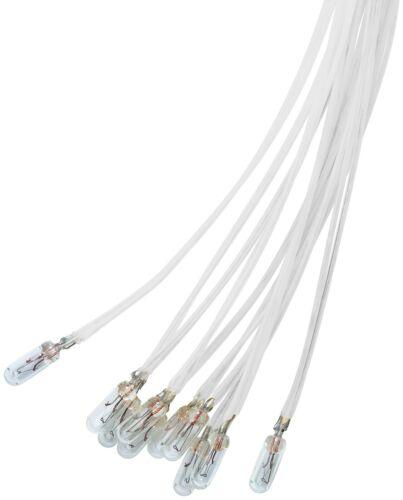L-4218 0,48 W 0,04 A 10 x Miniaturlampe Lampen Sockel  Plastikhalterung 12 V