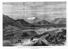 1879 - AFGHAN WAR - The Khoord Khyber Safed Koh Reconnaissance Large Print (215)