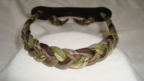 On Target Bow Wrist Sling made for compound bows with Mossy Oak Infinity finish