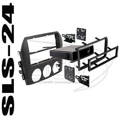 mazda mx 5 nc1 nc1e doppel din radio blende autoradio einbaublende radioblende ebay. Black Bedroom Furniture Sets. Home Design Ideas