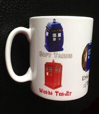 Soft Kitty Inspired Dr. Who Tardis Mug