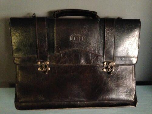 très bon état Etui médecin à en cuir sac en vintage bandoulière sac style wBZTqg