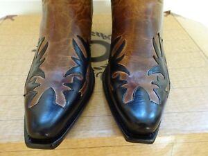 43 9 Horse Designer Cowboy Brown Boots Uk Charlie Tamaño vYq8TT