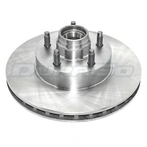 Disc Brake Rotor and Hub Assembly Front IAP Dura BR5406