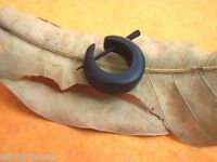Tibetan Handmade Craft Black Wooden Tribal Wood Stick Hoop SINGLE Earring WER283