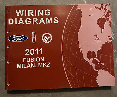 2007 Ford Fusion Lincoln MKZ Milan Wiring Diagrams Electrical ...
