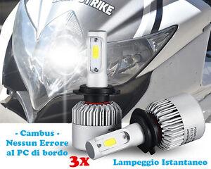 SUZUKI GSXR 750 08-10 LAMPADE ANABBAGLIANTI + ABBAGLIANTI LED ISTANTANEO .-.