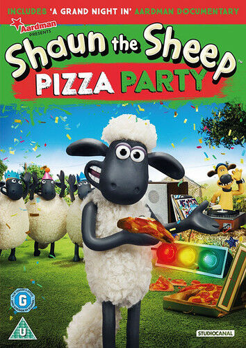 1 of 1 - Shaun the Sheep: Pizza Party DVD (2017) Nick Park ***NEW***