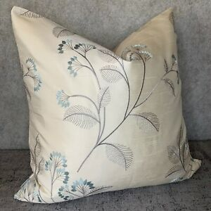 JOHN-LEWIS-034-Grace-034-Elegant-Gorgeous-Cushion-Cover-Fabric-Embroidery-Flowers-16-034