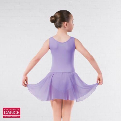 RAD Approved Princess Line Skirted Ballet Dance Leotard Pink Marine Lilac