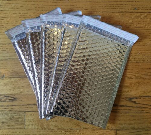 """Poly Mailer Padded//Bubble Shipping Mailer 6/""""X10/"""" SILVER UTAPE® BRAND Pack of 10"""