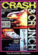 Drag Racing CRASH & CRUNCH, A Mishap Experienc, ,A Main Event Entertainment DVD