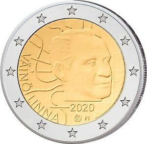 2 Euro Finlande  2020 -von Väinö Linna