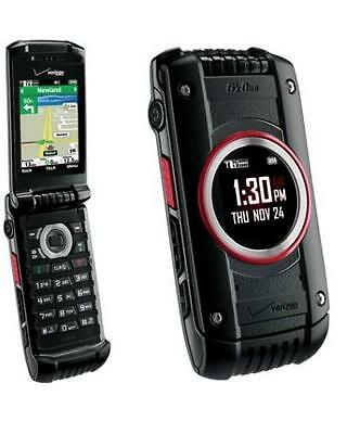 Casio G'zOne Ravine 2 -Black (Verizon) C781 Rugged Flip Cell Phone (Page Plus)